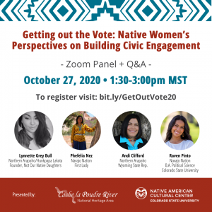 """Webinar: """"Getting out the Vote: Native Women's Perspectives on Building Civic Engagement"""""""